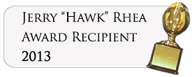 "Jerry ""Hawk"" Rhea Award 2012"